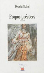 Propos Precoces - Couverture - Format classique