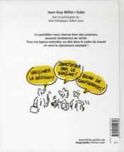 Lapsus révélateurs de la vie de bureau - 4ème de couverture - Format classique