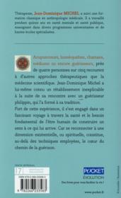 Chamans, guérisseurs, médiums - 4ème de couverture - Format classique