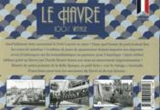 100% VINTAGE ; le Havre à travers la carte postale ancienne - 4ème de couverture - Format classique