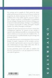 Traite General De Chimie Structures Thermodynamique Et Cinetique Chimiques - 4ème de couverture - Format classique