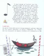 J'aime pas la musique ! - 4ème de couverture - Format classique