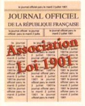 Association Loi De 1901 - Couverture - Format classique