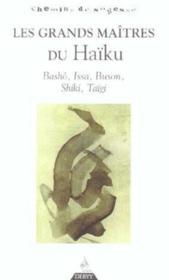 Les grands maitres du haiku - Couverture - Format classique