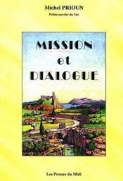 Mission et dialogue - Couverture - Format classique