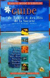 Tahiti, mode d'emploi - Couverture - Format classique