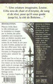 Boheme 2 - Revolutsyia - 4ème de couverture - Format classique