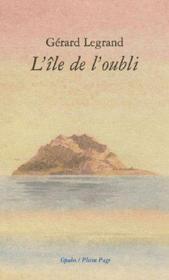 L'île de l'oubli - Couverture - Format classique
