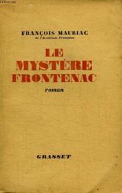 Le Mystere De Frontenac. - Couverture - Format classique