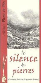 Le silence des pierres - Couverture - Format classique