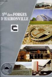 Societe Des Forges D'Haironville - Couverture - Format classique