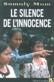 Le silence de l'innocence - Intérieur - Format classique