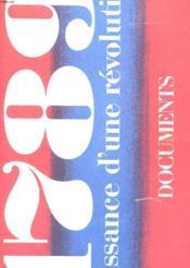 N°5 - 1789 Naissance D'Une Revolution - Documents - Couverture - Format classique
