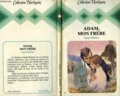 Adam Mon Frere - Living With Adam - Couverture - Format classique