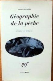 Géographie de la pêche. - Couverture - Format classique