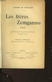 Les Freres Zemganno - Couverture - Format classique