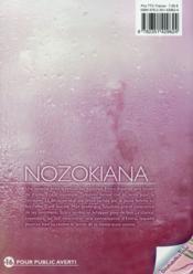 Nozokiana t.11 - 4ème de couverture - Format classique