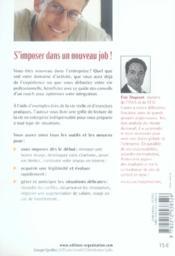 100 jours pour réussir dans l'entreprise - 4ème de couverture - Format classique