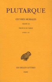 Oeuvres morales t.9 ; 1ère partie - Couverture - Format classique
