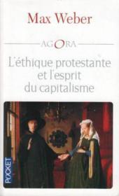 L'ethique protestante et l'esprit du capitalisme - Couverture - Format classique