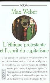 L'ethique protestante et l'esprit du capitalisme - Intérieur - Format classique