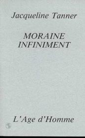 Moraine Infiniment - Couverture - Format classique