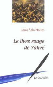 Le Livre Rouge De Yahve - Intérieur - Format classique