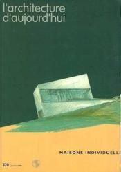 L'Architecture D'Aujourd'Hui No323 Juillet 1999 - Couverture - Format classique