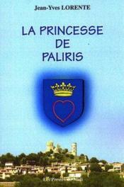 La Princesse De Paliris - Couverture - Format classique