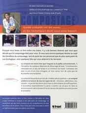 Compostage - 4ème de couverture - Format classique