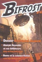 Revue Bifrost N.43 ; Dossier Emmanuel Jouanne - Intérieur - Format classique