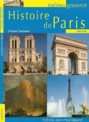 Histoire de Paris - Couverture - Format classique