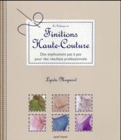 Finitions haute-couture - Couverture - Format classique