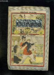 Aventure D Un Petit Explorateur N° 27 Coup De Theatre. - Couverture - Format classique