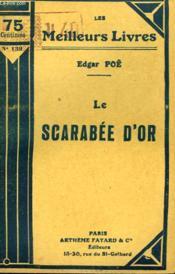 Le Scarabee D'Or. Collection : Les Meilleurs Livres N° 139. - Couverture - Format classique