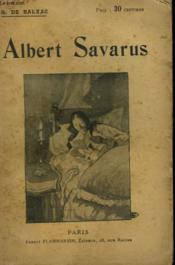Albert Savarus. Collection : Oeuvres De Balzac. - Couverture - Format classique