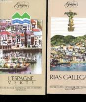 Lot De 2 Brochures - Espagne - L'Espage Verte Et Rias Gallegas - Couverture - Format classique