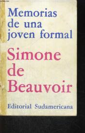 Memorias De Una Joven Formal - Couverture - Format classique