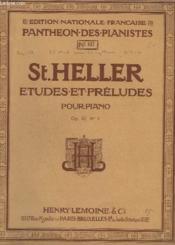 Etudes Et Preludes Pour Piano - Op.47 - N° 1 - 25 Etudes En 2 Livres - Livre 1 : De 1 A 14. - Couverture - Format classique