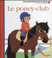Le poney-club - Couverture - Format classique