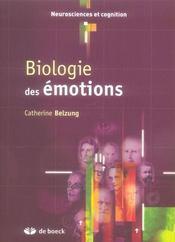 Biologue des émotions - Intérieur - Format classique