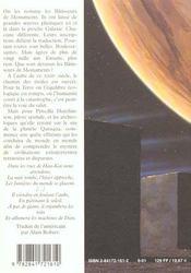 Les Machines De Dieu - 4ème de couverture - Format classique