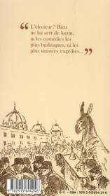 La grève des électeurs ; avec un florilège incivique - 4ème de couverture - Format classique