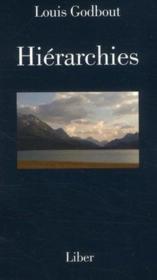 Hiérarchies - Couverture - Format classique