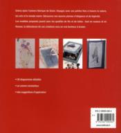 Féérie à broder - 4ème de couverture - Format classique
