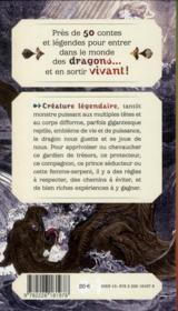Contes de dragons - 4ème de couverture - Format classique