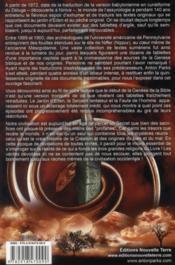 Eden ; la vérité sur nos origines - 4ème de couverture - Format classique