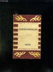 Contes Francais. - Couverture - Format classique