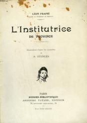 L'Institutrice De Province. Collection Modern Bibliotheque. - Couverture - Format classique