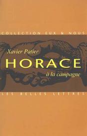 Horace a la campagne - Intérieur - Format classique